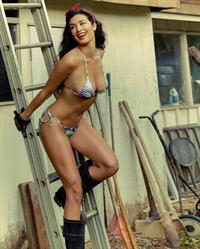 Alexandria Hanson in a bikini
