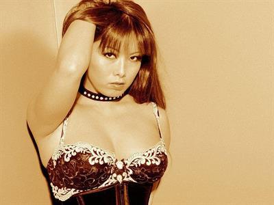 Fujiko Kano in lingerie