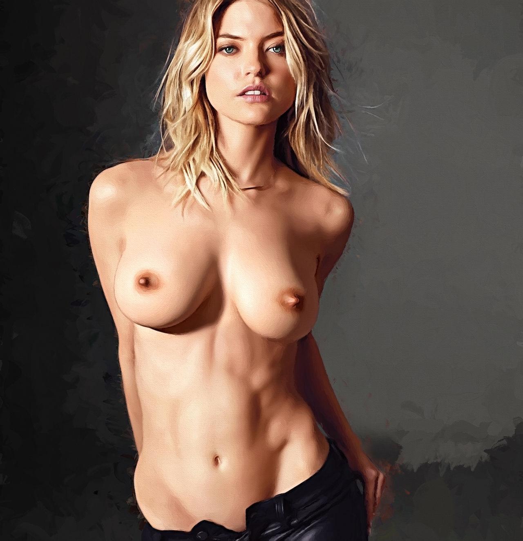 Martha nackt Hunt Nude celebrity