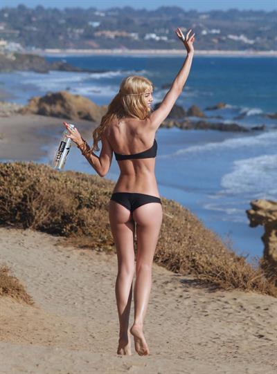 Katiuscia Torres in a bikini - ass