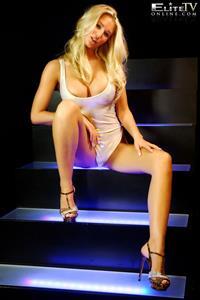 Danica Thrall in lingerie