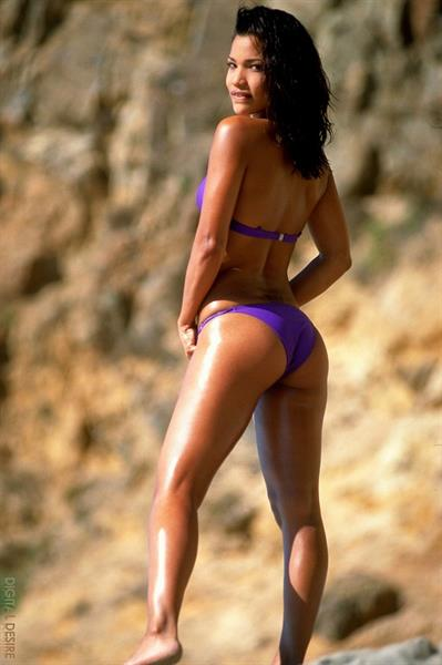 Adriana Sage in a bikini - ass