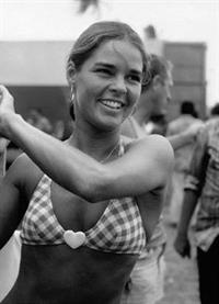 Ali MacGraw in a bikini