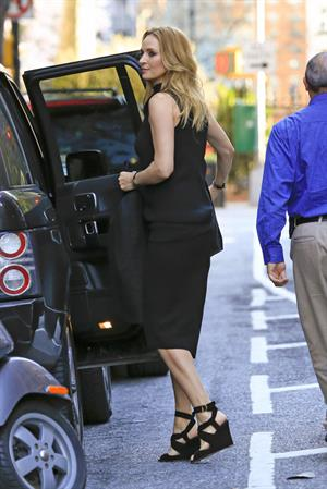 Uma Thurman out in New York City (17.04.2013)