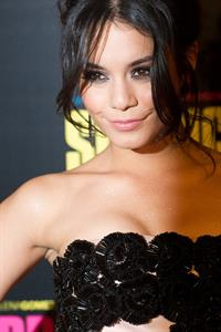 Vanessa Hudgens Spring Breakers premiere in Paris 2/18/13