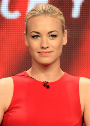 Yvonne Strahovski 2012 TCA Summer Press Tour - Showtime And CW Panels, July 30, 2012