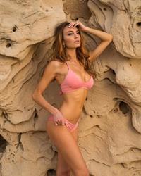 Jocelyn Binder in a bikini