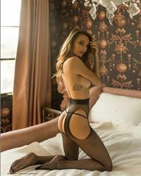 Jocelyn Binder in lingerie - ass