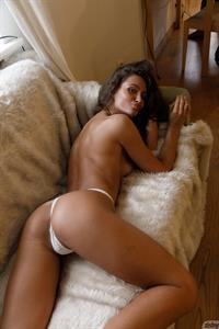 Shyla Volbeck White Thong