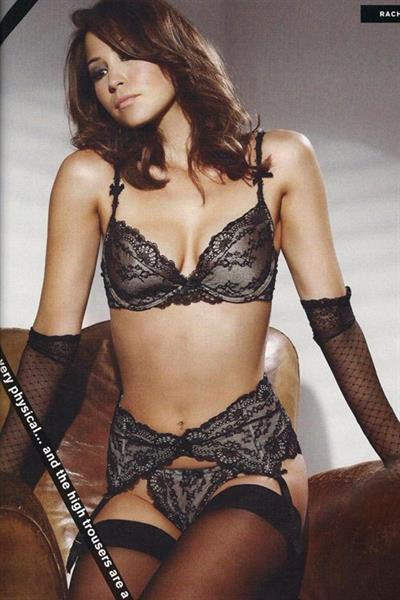 Rachel Stevens in lingerie