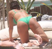 Rachel Cook candid bikini