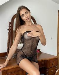 Anna Louise in lingerie