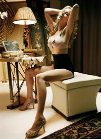 Kira Miró in lingerie