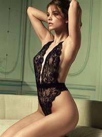 Barbara Palvin in lingerie