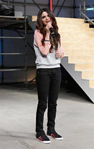 Selena Gomez Adidas NEO Label event in NY 2/6/13