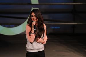 Selena Gomez Adidas NEO Label event in NY 2/6/13