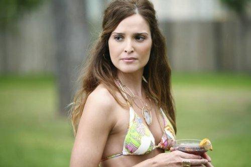 Gloria Votsis in a bikini