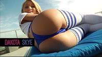 Dakota Skye in lingerie - ass