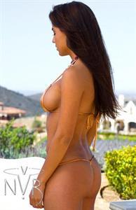 Marlina Moreno in a bikini - ass