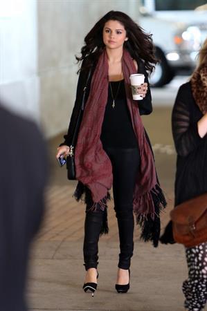 Selena Gomez out walking in Toluca Lake on April 5, 2013