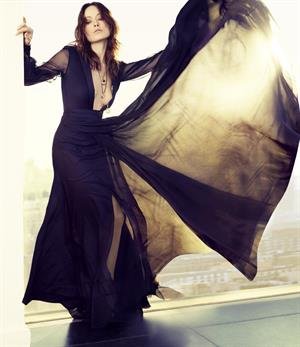 Olivia Wilde : Marie Claire Photoshoot
