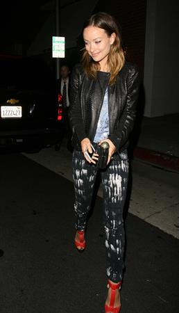 Olivia Wilde at Mr Chow's Restaurant in Beverly Hills - June 12, 2013