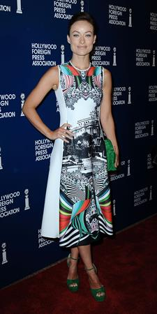 Olivia Wilde (71) 2Hollywood Foreign Press Installation Luncheon in Beverly Hills - August 13 2013