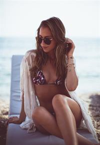 Kenza Zouiten in a bikini