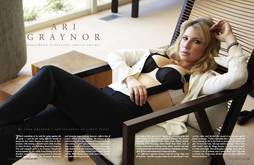 Ari Graynor in lingerie