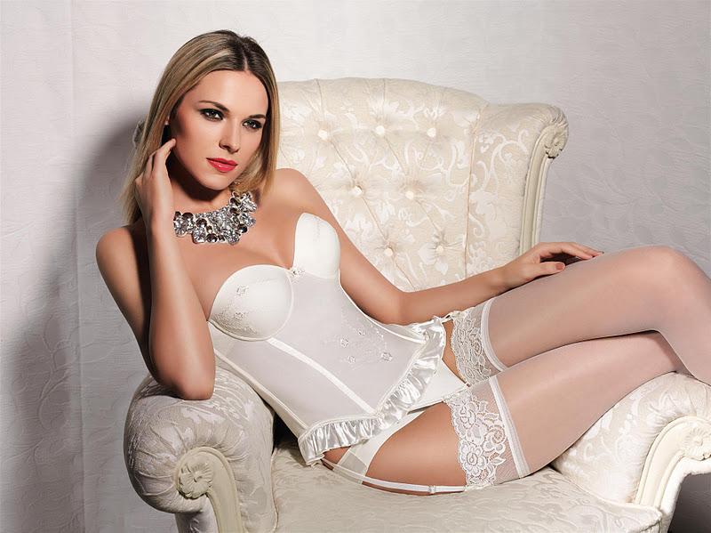 Lucia Kopacikova in lingerie