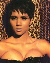 Halle Berry in lingerie
