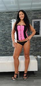 Kyra Hot in lingerie