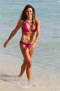 Kelly Bensimon in a bikini