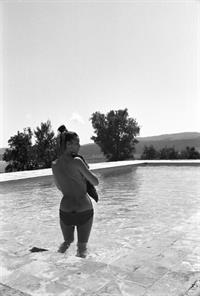 Elsa Martinelli in a bikini - ass