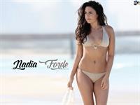 Nadia Forde in a bikini