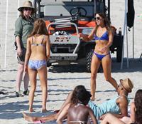 Aubrey Plaza in a bikini