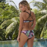 Sylvie van der Vaart in a bikini - ass