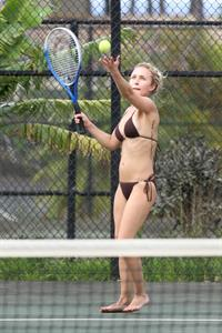 Hayden Panettiere in a bikini