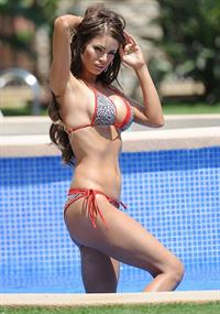 Chloe Sims in a bikini