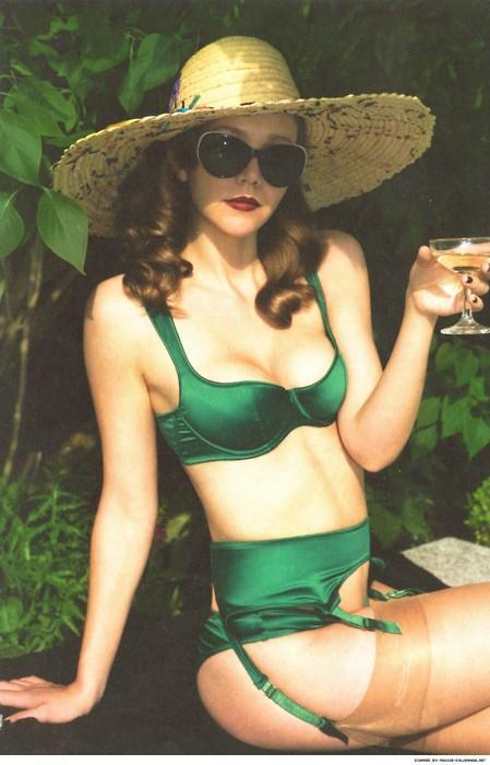 Maggie Gyllenhaal in a bikini