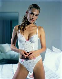 Molly Sims in lingerie