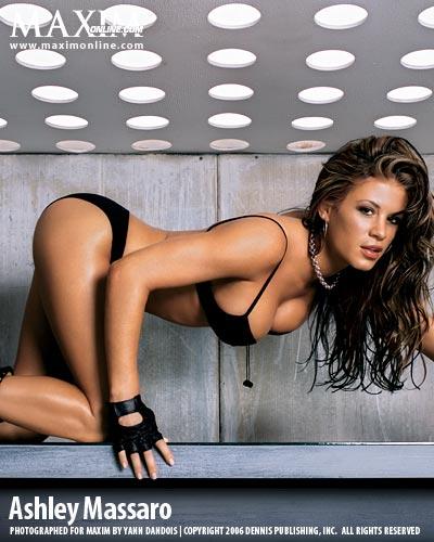 Ashley Massaro in a bikini