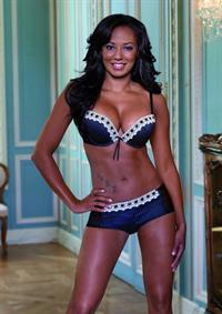 Melanie Brown (Scary Spice) in lingerie