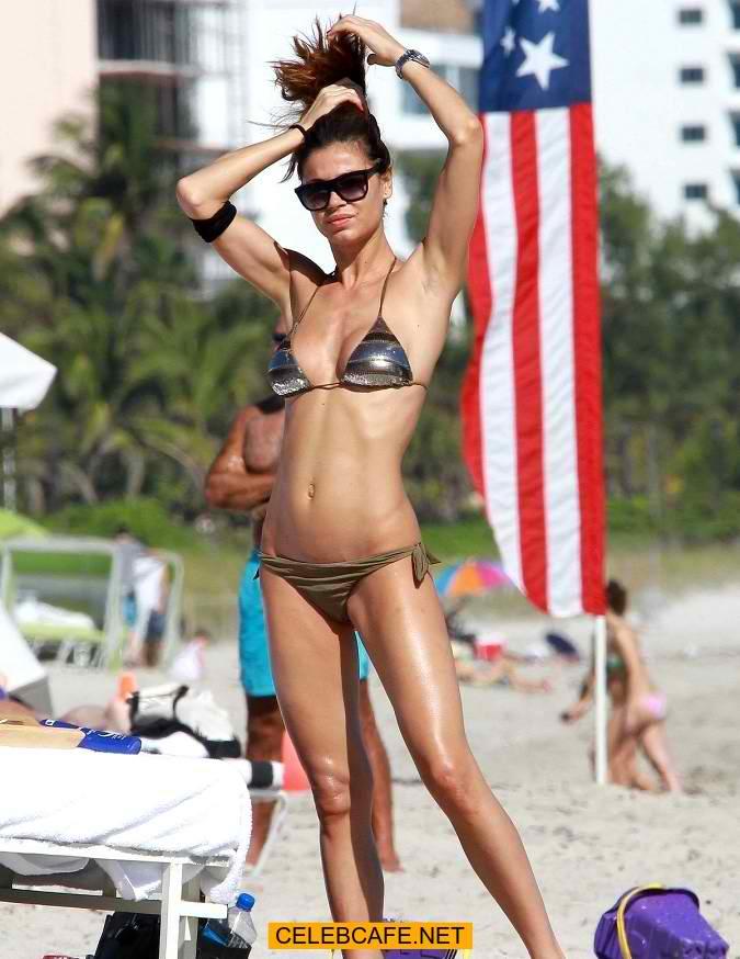 Nena Ristic in a bikini