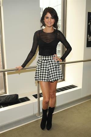 Selena Gomez at Sirius XM radio network in New York on June 28, 2011