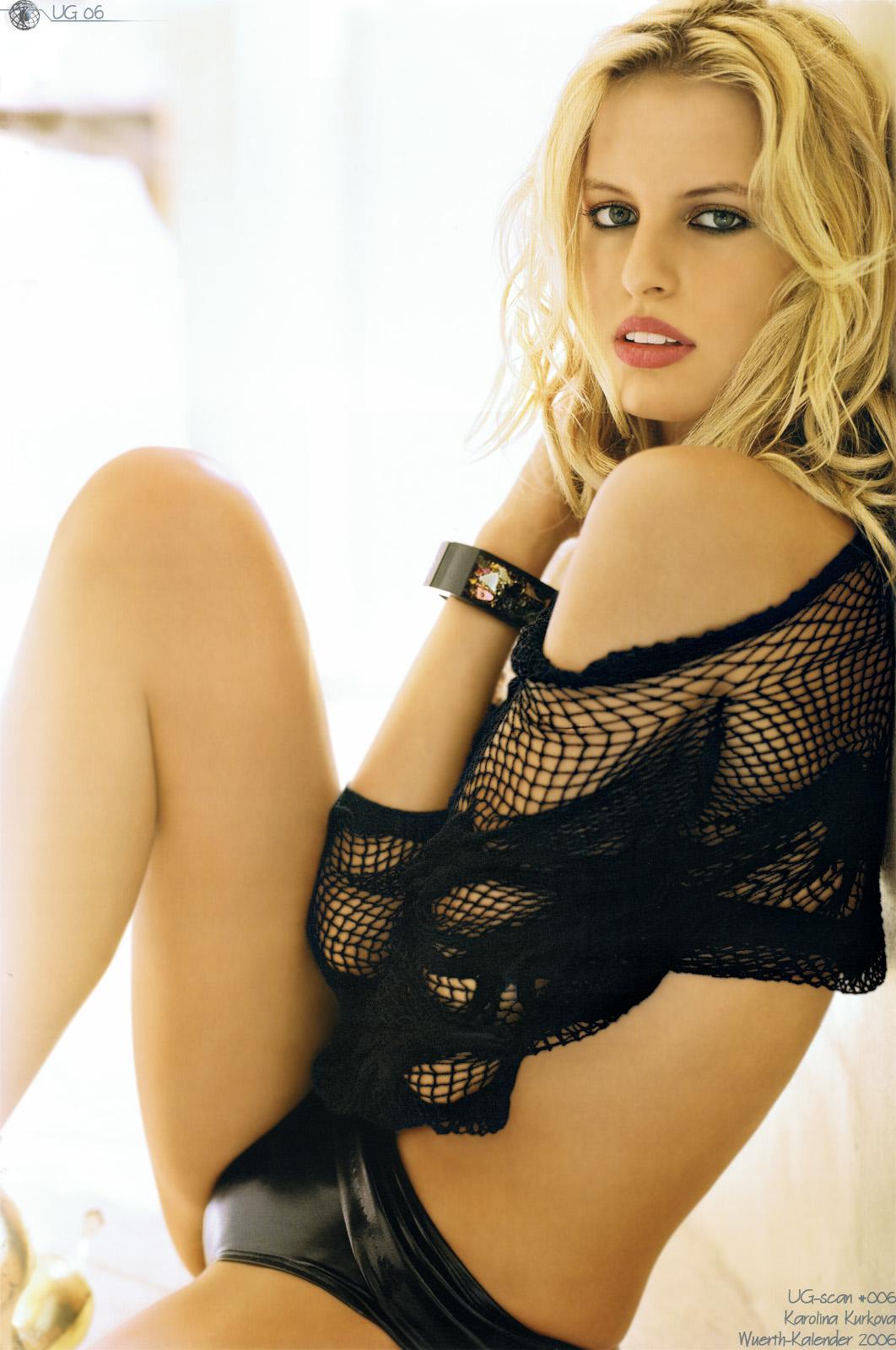 Danita Angell in lingerie