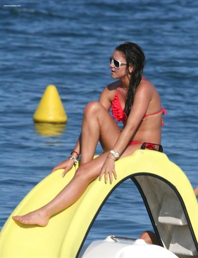 Brooke Vincent in a bikini