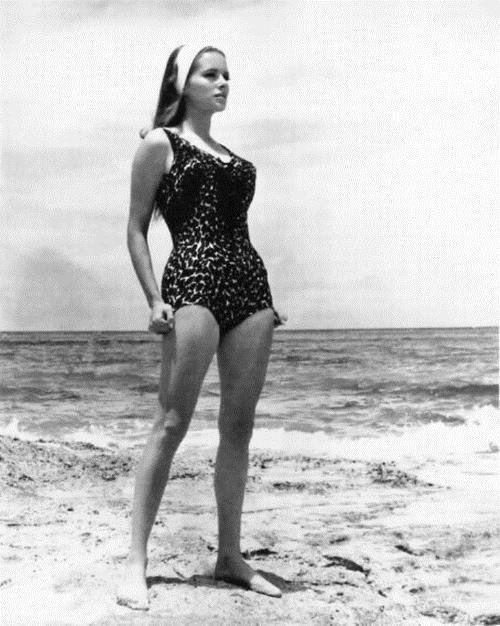Luciana Paluzzi in a bikini