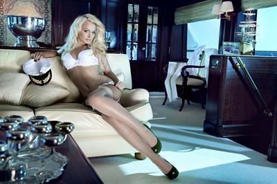 Mandy Lange in a bikini