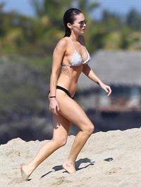 Megan Fox in a bikini - breasts